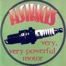 FREE S&H~ $9.99 ~ Fastbacks CD Very Very Powerful Motor