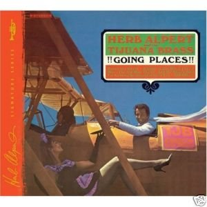 FREE S&H~ $9.99 ~ Herb Alpert CD Going Places SPANISH FLEA