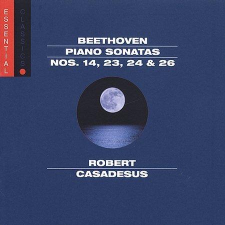 FREE S&H ~ $9.99 ~ Beethoven piano Sonatas CD Robert Casadesus Sony Legacy