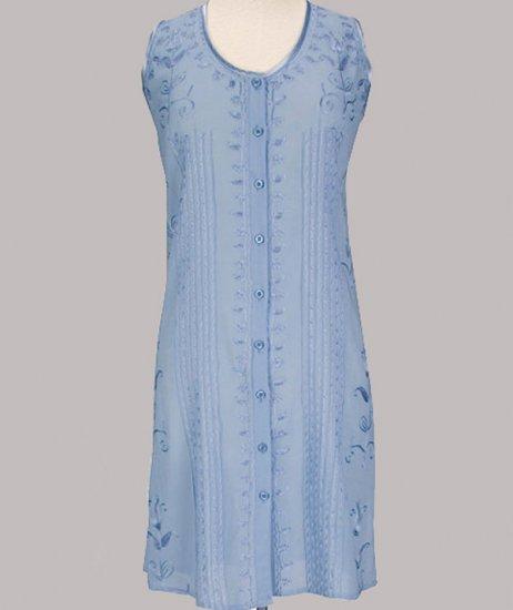 Soft Surroundings Oasis Tunic Tops Shirt Misses M 10 12