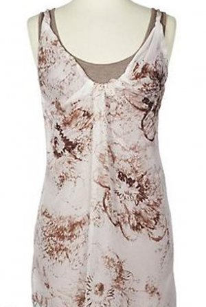 Soft Surroundings Silk Tank Top Shirt Misses L 14 16