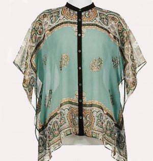 Soft Surroundings Silk Tops Shirt  Misses S M 4 6 8 10 12