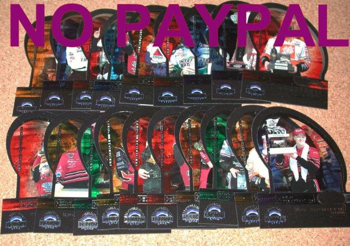 Press Pass Eclipse 2002 NASCAR Cards LOT Racing Champion
