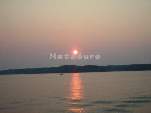 Sunset on Lake Gaston 11x14