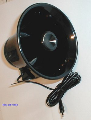 NEW ROADPRO 5 INCH 15 WATTS PUBLIC ADDRESS PAGING HORN FOR CB RADIO