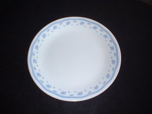 Corelle Corning Ware Morning Blue Dinner Plates x 4
