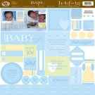 TLC HOT FUDGE Baby Boy 12 x12 Kit