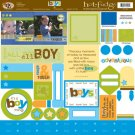 TLC HOT FUDGE Boys 12 x12 Kit