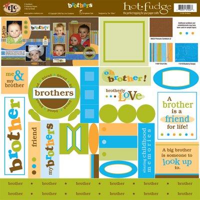 TLC HOT FUDGE Brothers 12 x12 Kit