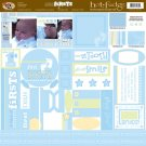 TLC HOT FUDGE Firsts - Baby Boy 12 x12 Kit