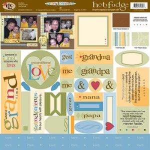 TLC HOT FUDGE Grandparents 12 x12 Kit
