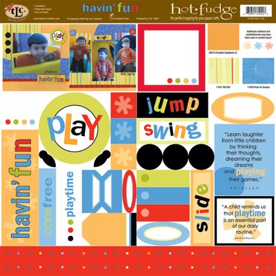 TLC HOT FUDGE Havin' Fun 12 x12 Kit