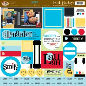 TLC HOT FUDGE Laugh 12 x12 Kit