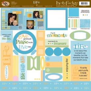 TLC HOT FUDGE Life 12 x12 Kit