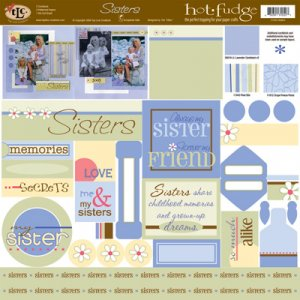 TLC HOT FUDGE Sisters 12 x12 Kit