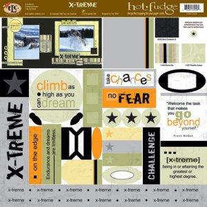 TLC HOT FUDGE X-TREME 12 x12 Kit