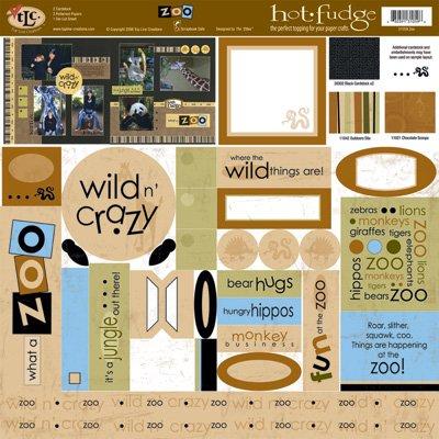 TLC HOT FUDGE Zoo 12 x12 Kit
