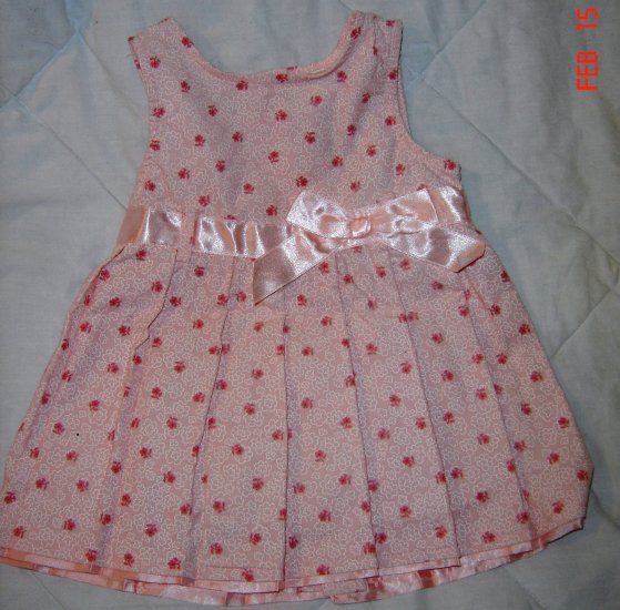 NWT Adorable 12M Girls PInk Easter Dress