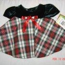 NWT Lovely Bonnie Jean 0-3M Infant Girls Dress