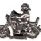 Biker   Pewter Mini Figurines Lot of 5