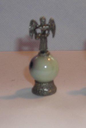 Angel Mini Pewter Figurines on  Marble