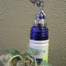 Bass Fish  Pewter Bottle Stopper
