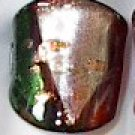 Red Green  MURANO GLASS RING Size 7