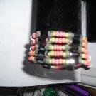 """Magnetic Coral Color Necklaces/Bracelets 36"""""""