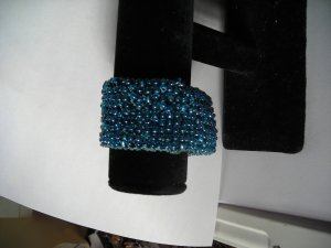 Light Blue Bracelet Velcrow Closer