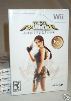 LARA CROFT TOMB RAIDER: ANNIVERSARY - NINTENDO Wii - BRAND NEW FACTORY SEALED