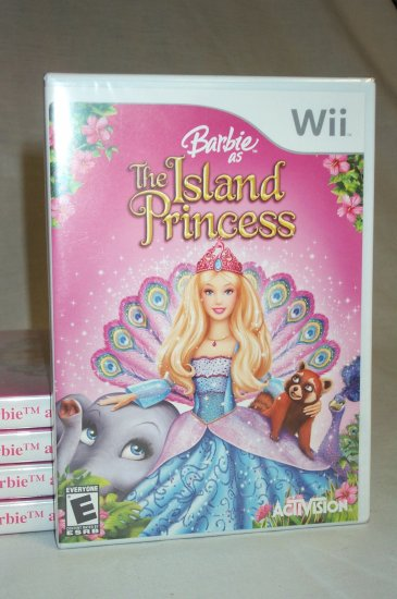 BARBIE ISLAND PRINCESS - NINTENDO Wii - BRAND NEW FACTORY SEALED