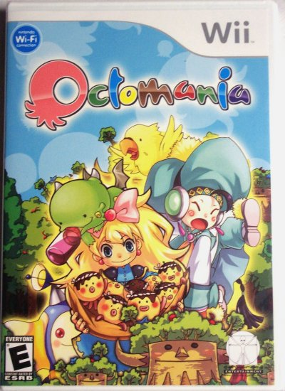 OCTOMANIA - NINTENDO Wii - BRAND NEW FACTORY SEALED