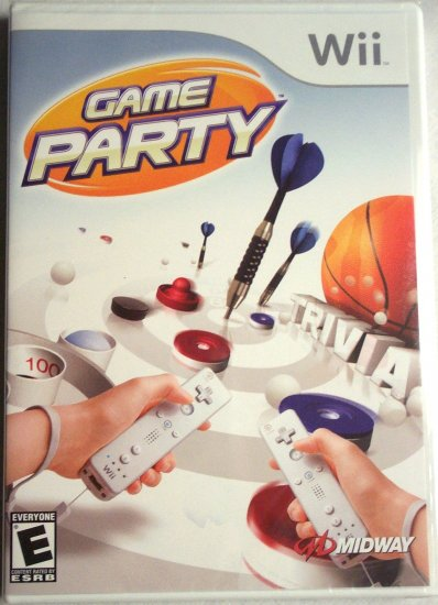 GAME PARTY - NINTENDO Wii - BRAND NEW FACTORY SEALED