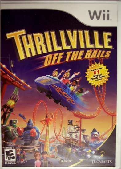 THRILLVILLE: OFF THE RAILS - NINTENDO Wii - BRAND NEW FACTORY SEALED