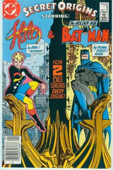 DC COMICS SECRET ORIGINS ISSUES #2,6,13, & 39 1986-89 (FREE SHIPPING)