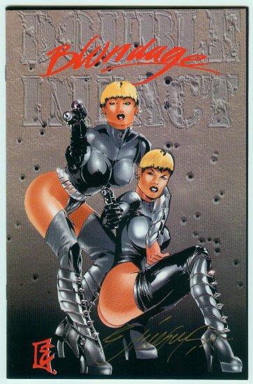 Double Impact #3/Blondage Signed Edit.1995 Limited To 5000