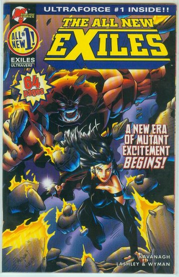 All New Exiles Vol. 2 #1 (Limited Cover)