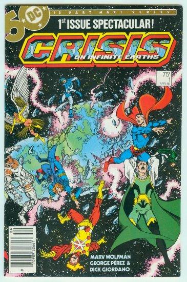 CRISIS ON INFINITE EARTHS #1 (1985)