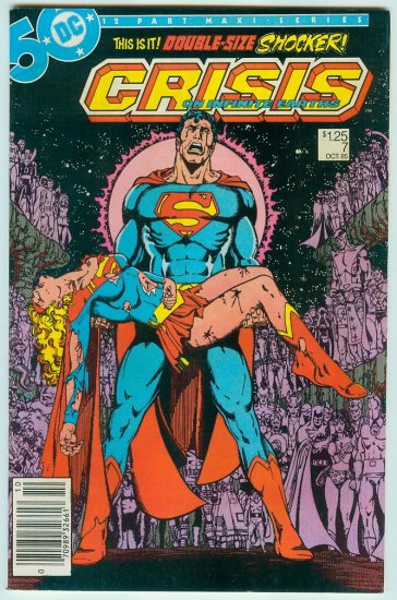 CRISIS ON INFINITE EARTHS #7 (1985)