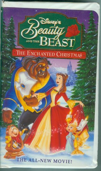 DISNEYS THE Beauty and the Beast: An Enchanted Christmas VHS MOVIE 1997