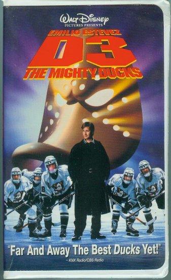 DISNEYS D3: The Mighty Ducks (VHS, 1997)