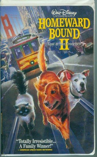 DISNEYS Homeward Bound 2 - Lost in San Francisco (VHS, 1996)