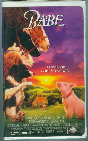 Babe (VHS, 1996)