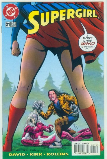 DC COMICS SUPERGIRL #21 (1998)
