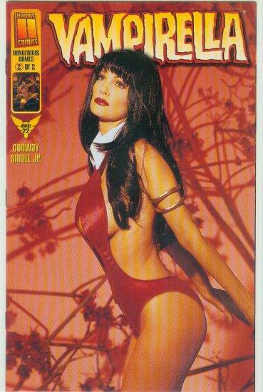 HARRIS COMICS VAMPIRELLA #22c VARIANT PHOTO COVER (1999)