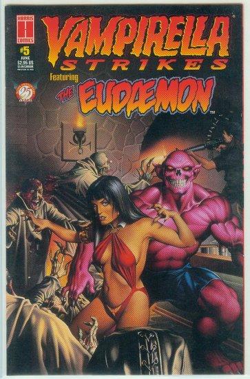 HARRIS COMICS VAMPIRELLA STRIKES  #5 (1996)