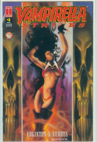 HARRIS COMICS VAMPIRELLA STRIKES  #4 (1996)