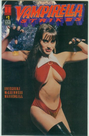 HARRIS COMICS VAMPIRELLA STRIKES  #1 (1995)