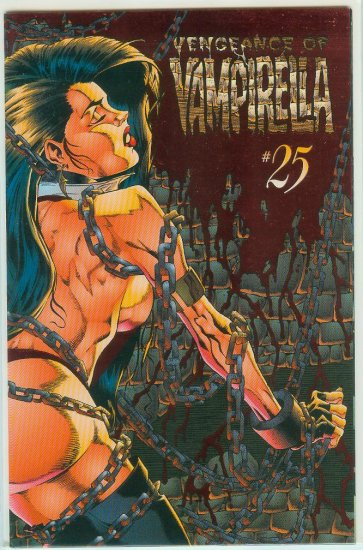HARRIS COMICS HARRIS COMICS VENGEANCE OF VAMPIRELLA #25 (1996)