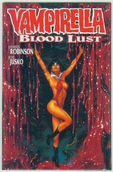 HARRIS COMICS VAMPIRELLA BLOOD LUST BOOK 2 (1997)